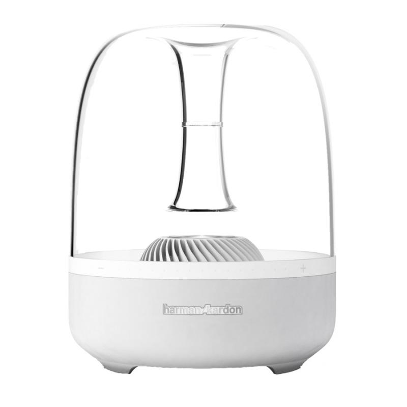 harman kardon aura white radios docks speaker azone. Black Bedroom Furniture Sets. Home Design Ideas