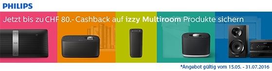 Philips izzy BM5 - Kabelloser Multiroom-Lautsprecher mitBluetooth-a